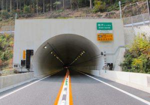 宮崎10号祝子トンネルTN照明工事