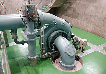 大山ダム 管理用水力発電設備工事および遠隔制御設備工事