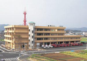 延岡市消防庁舎 電気設備工事施工
